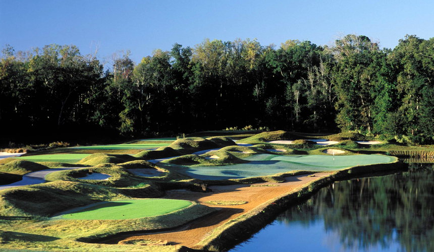 Dye Course At Barefoot North Myrtle Beach Golf Course